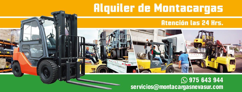 Alquiler y mantenimiento de montacargas en Lima, Peru